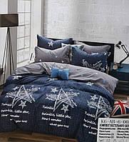 Комплект постельного белья двуспальный Евро Twinkle Сатин (фланель) Фабричная Турция