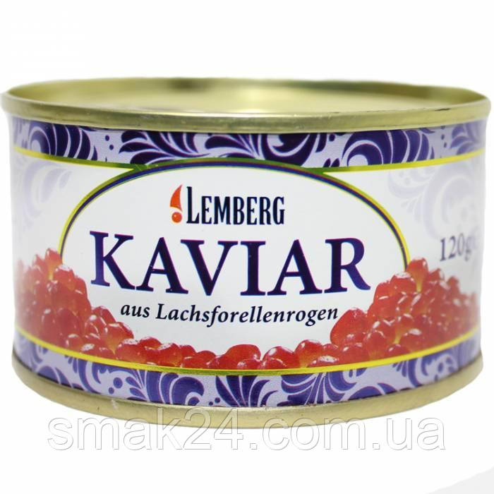 Икра форели красная Lemberg Kaviar 120г Германия