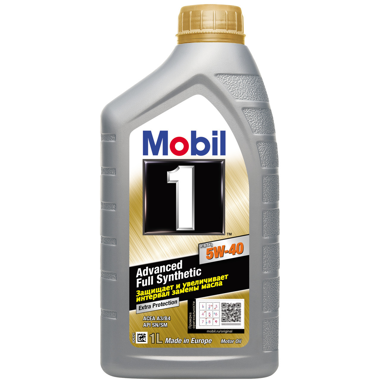 Моторное масло MOBIL 1 FS X1 5W-40 1л