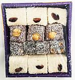 Рахат лукум 300 гр,TATLAN  фисташки, фундук, миндаль ,  турецкие сладости, фото 6