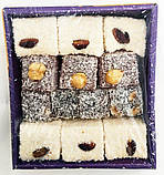 Лукум TATLAN фісташки, фундук, мигдаль ,300 гр, турецькі солодощі, фото 6