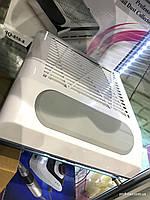 Вытяжка для маникюра Simei 858-8 с НЕРА-фильтром 80W (белая)