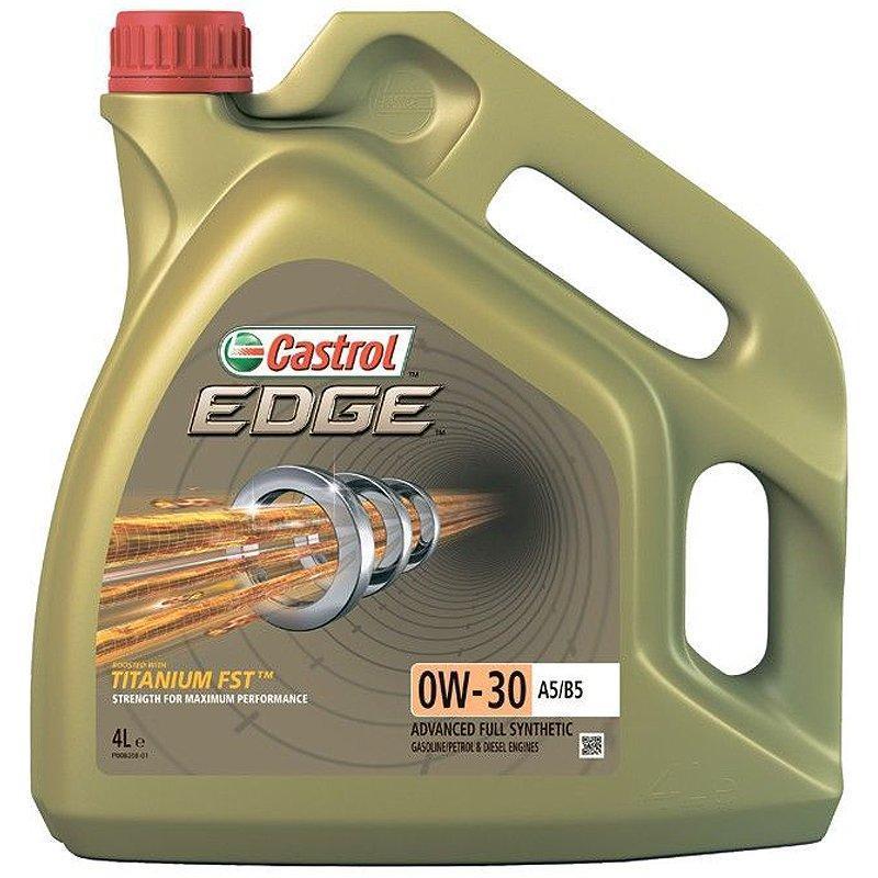 CASTROL Edge Titanium FST 0W-30 A5/B5 4л Моторное масло