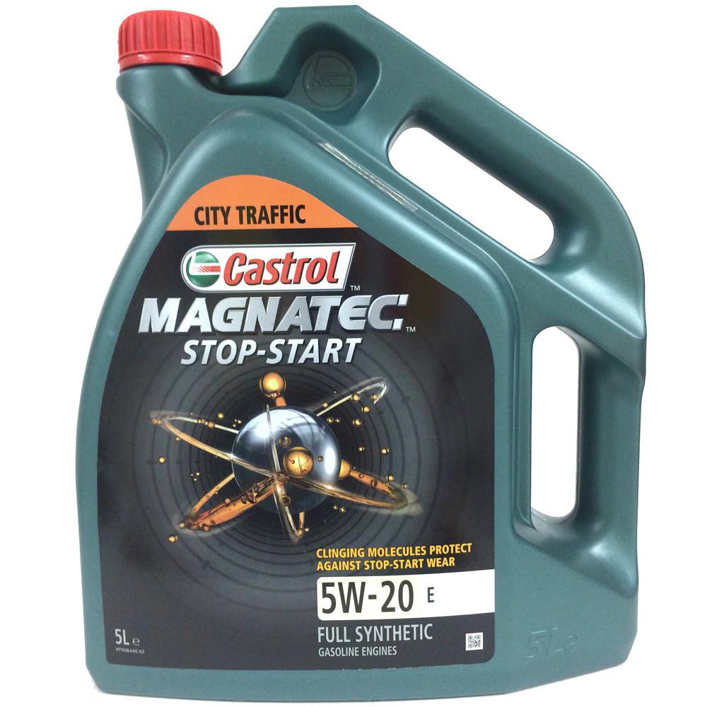 CASTROL MAGNATEC STOP-START 5W-20 E 4л Моторное масло