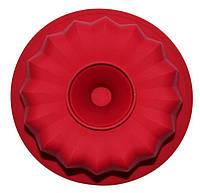 Форма для выпечки кексов Hauser Кекс большой 20х9 см Красный HH-313psg, КОД: 168163