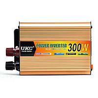 Преобразователь напряжения(инвертор) 12-220V 300W Usb Gold (5353)
