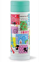 Термос-чашка Fissman Humming Cat 350 мл Разноцветный psgFN-VA-9703, КОД: 945345