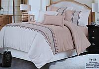 Комплект постельного белья двуспальный Евро Oriental Cream Хлопок 100% Фабричный Китай