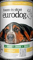 Влажный Корм для Собак EURO DOGс Птицей 415гр