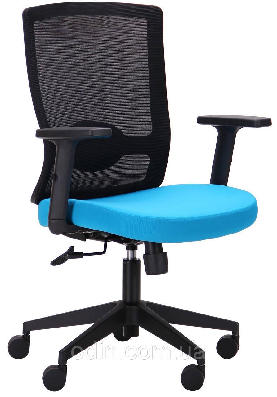 Кресло Xenon LB черный/лазурь 521195
