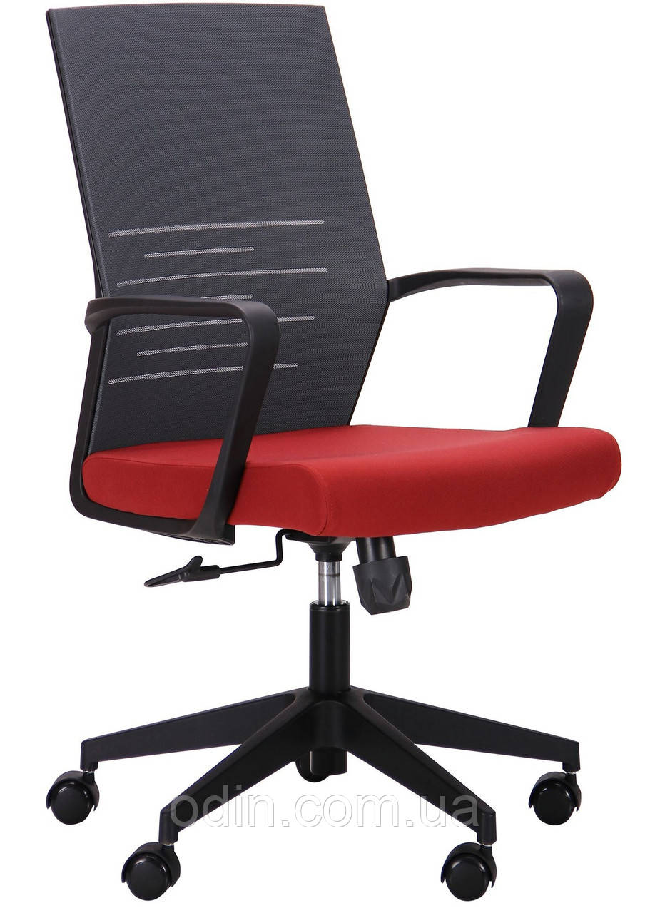 Кресло Nitrogen LB графит/бургунди 521204