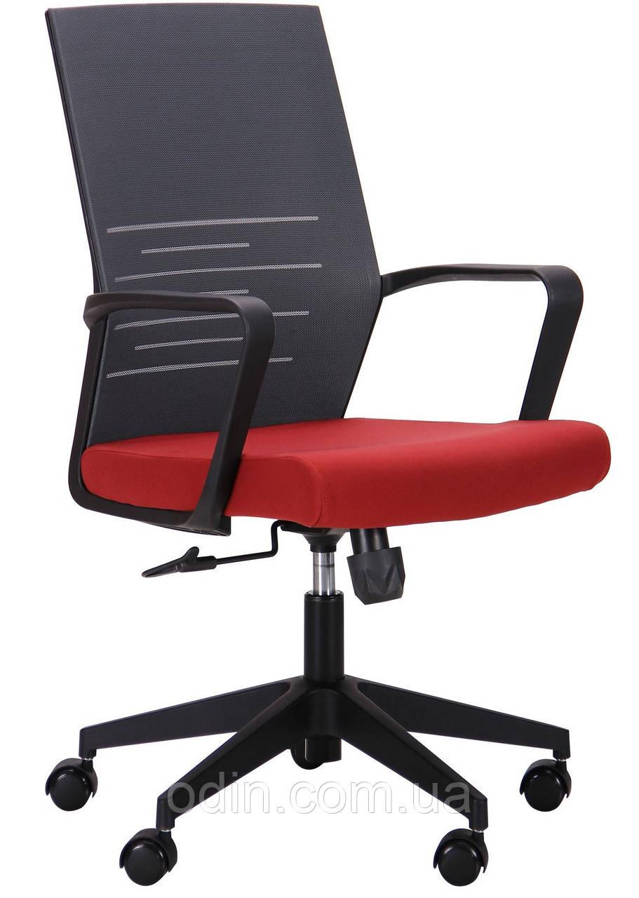 Крісло Nitrogen LB графіт/бургунді 521204