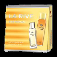 Женский подарочный набор La Rive Woman edp 90 мл + deo 150 мл hubYELV36836, КОД: 1024610