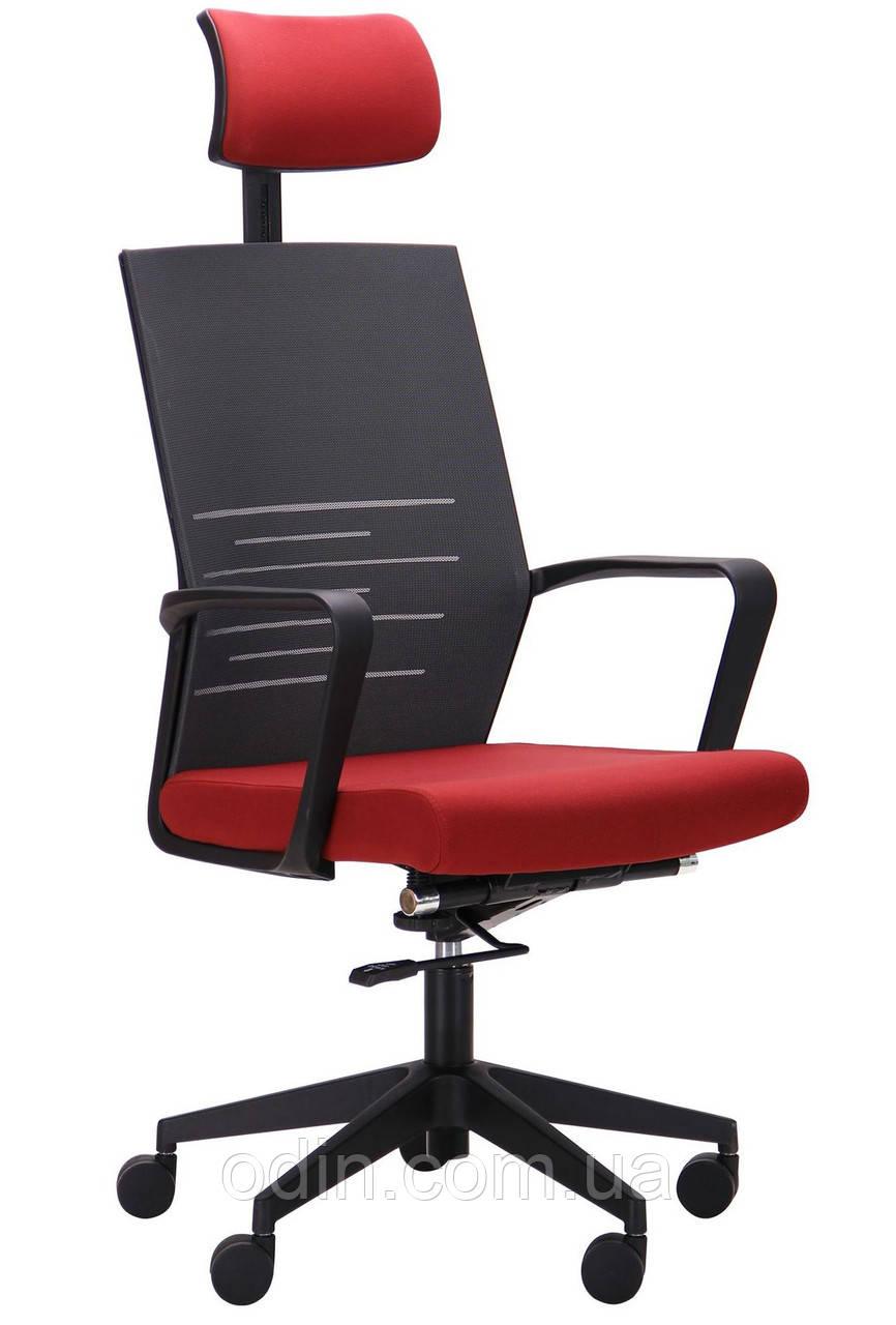 Крісло Nitrogen HB графіт/бургунді 521203