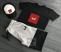 Мужской летний костюм Huf (Хаф) комплект 3 в 1 XL