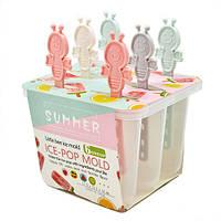 """Формы для мороженого Stenson """"Пчелки"""" в наборе 6шт, пластик, 16см, набор для мороженного, кондитерский инвентарь, кондитерский инструмент"""