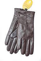 Женские кожаные перчатки M Коричневые 728s2, КОД: 189108