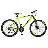 Детский спортивный велосипед 26 PROFI YOUNG G026A0261M Салатовый 23-SAN448, КОД: 720645