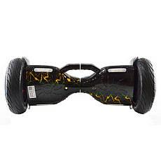 Гироскутер Smart Balance 10,5 c держателем №9 Молния синяя с красным BT + APP + автобаланс, фото 3