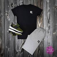 Мужской летний костюм Reebok (Рибок) 100% качества 2XL