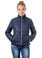 Женская демисезонная куртка IRVIC 48 Темно-синий IrC-FZ151-48, КОД: 258958