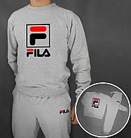 Спортивный костюм Fila (Premium-class) серые
