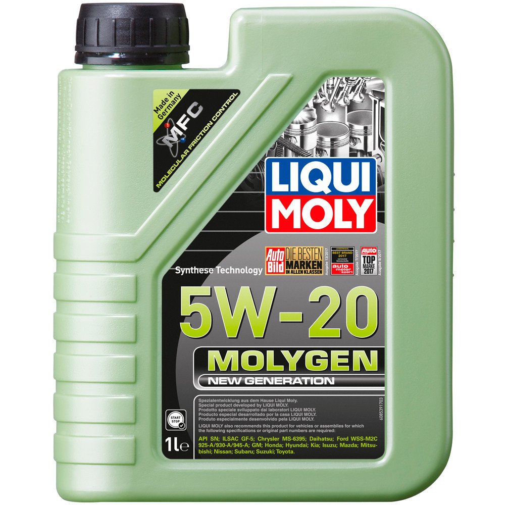 Моторное масло LIQUI MOLY Molygen New Generation 5W-20 8539 1л