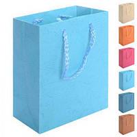 """Пакет подарочный бумажный """"Однотон"""" R15967, 8*11*4 см, Подарочные пакеты, Пакеты для подарков бумажные"""