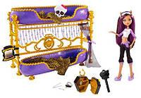 Кукла Monster High Клодин с кроватью
