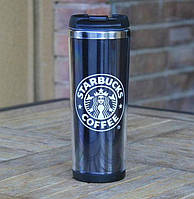 Термокружка Starbucks Coffee 380 мл Черная SUN0029, КОД: 181688