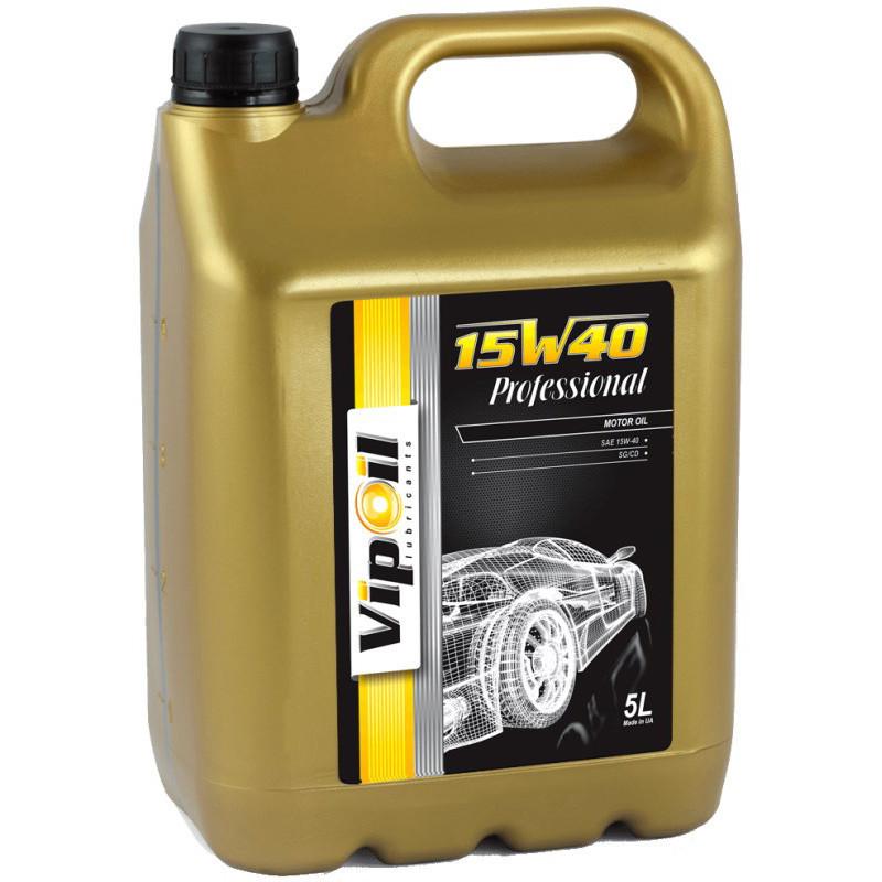 Моторное масло VIPOIL Professional 15W-40 SG/CD 5л