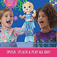 лялька мерехтлива Русалка бебі Элайв Baby Alive Shimmer & Splash Mermaid