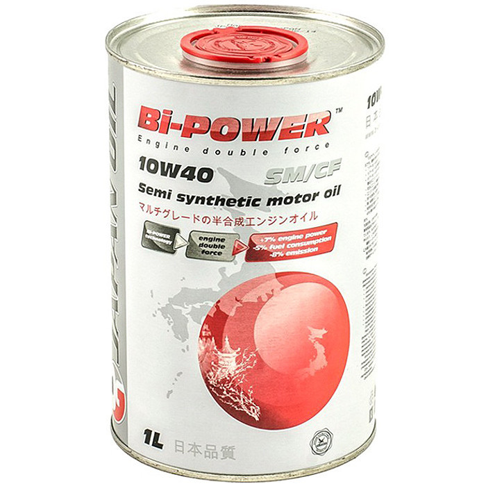 Моторное масло Bi-Power 10W-40 SM/CF 1л