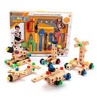 Детский набор столярных инструментов 808-9