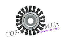 Щетка дисковая Housetools - 115 мм, плетеная