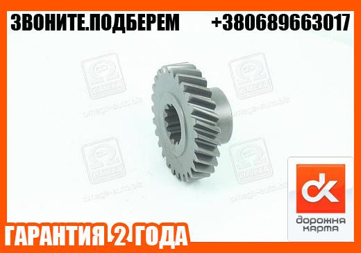 Шестерня 3 передачи вала промежуточного КПП УАЗ 452,469(31512) (старого образца)  (арт. 451-50-1701051)