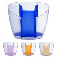 """Сушка для столовых приборов """"Dishes"""" PT83290, пластиковая, полка для посуды, полочка для посуды, стойка для посуды, держатель посуды"""