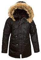 Куртка Alpha Industries N3B Women L Black, КОД: 1313262