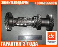 Вал промежуточный КПП ГАЗ 3302 5-ст. без подш.  (арт. 3302-1701310)