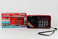Портативная mp3 колонка WSTER WS-958RC, мощность 3 Вт, с антеной, разные цвета, мобильная колонка, мп3 - колонка, беспроводная колонка