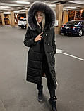 Куртка женская удлинённая. Цвета: черный, марсала, серый, фото 6