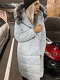 Куртка женская удлинённая. Цвета: черный, марсала, серый, фото 9