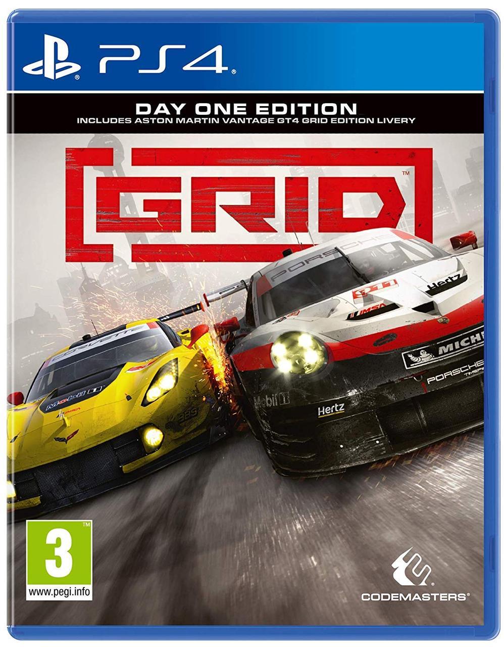 Игра Grid Day One Edition для PS4