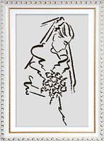 Набор для вышивки крестом. Невеста.