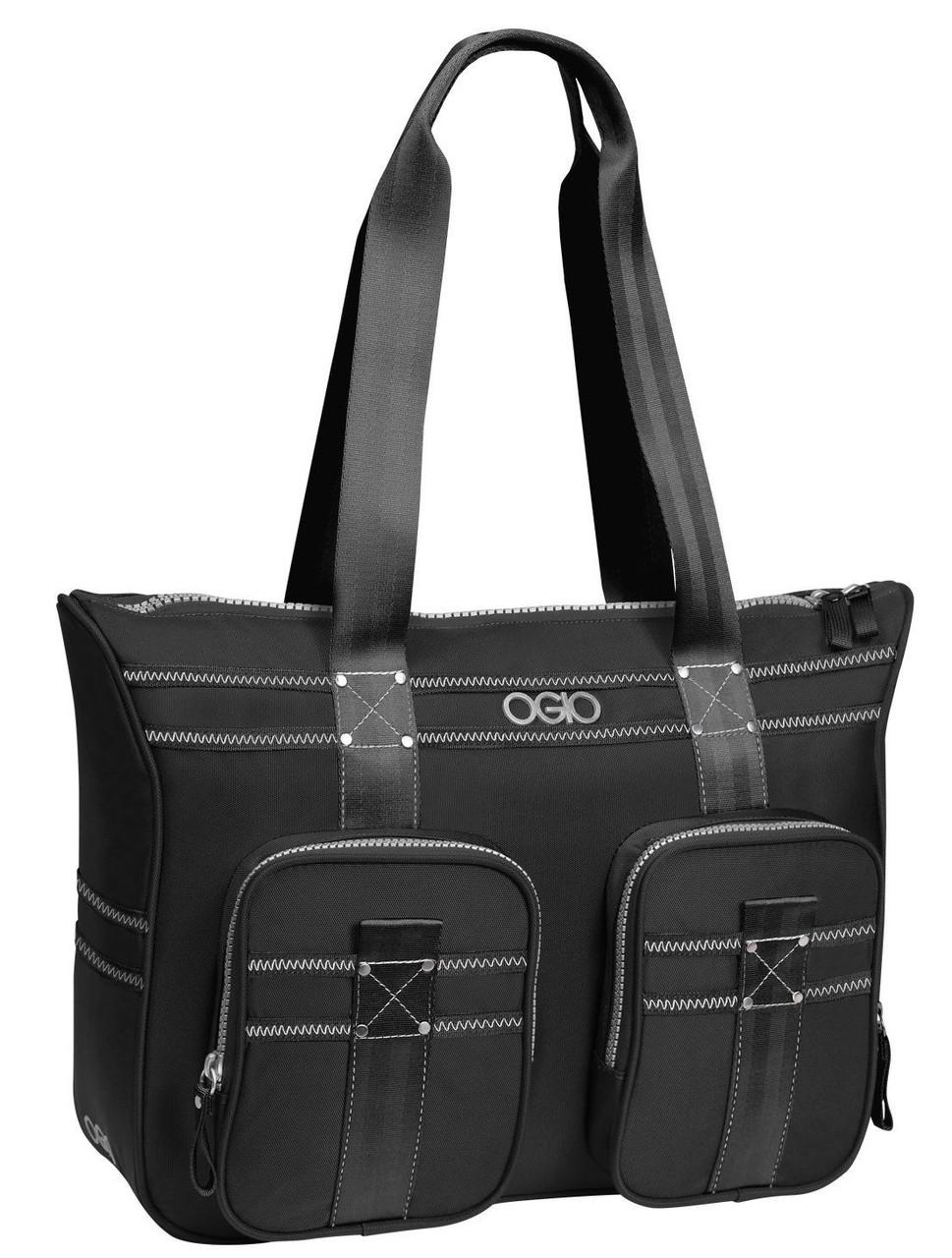 """Деловая женская сумка с отделом для ноутбука 13"""" OGIO Lisbon Tote 114011.03 Black"""