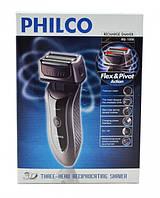Бритва PHILCO 1058, 3W, 3 бритвенных головок, индикатор зарядки, аккумулятор, бритва, электробритва