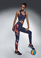 Женский костюм для фитнеса Bas Bleu Rainbow M Темно-синий с красным bb0164, КОД: 951478