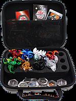 Игровой набор Bakugan Battle 8 шт. + арена + кейс, бокс для бакуганов