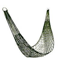 Гамак - сетка Сonvolves R83136 зеленый, 80*200см, для взрослых, гамак, гамак для дачи, подвесной гамак, гамак для сада, туризм