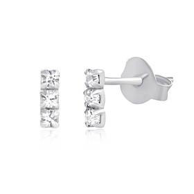 Серебряные серьги детские С1Ст/613